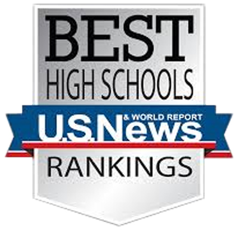 Named one of the top three public high schools in Oklahoma by US News &  World Report